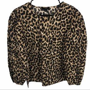 J.Crew ruffle sleeve blouse